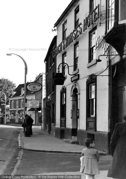 Photo of Bromsgrove, High Street 1949