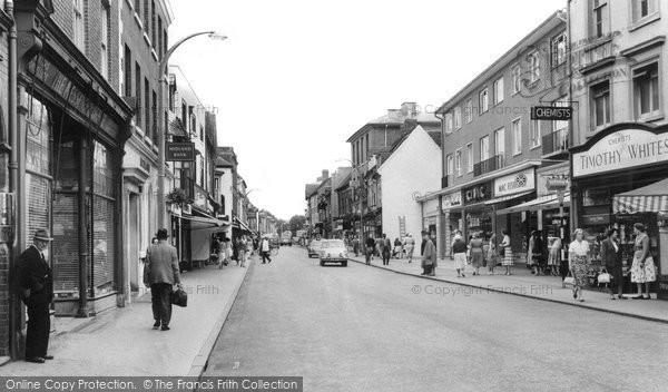 Photo of Bromsgrove, High Street c1960, ref. b233046