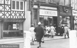Bromsgrove, High Street, Shoppers c.1965