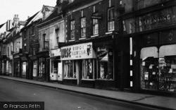 Bromsgrove, High Street, Shops 1949