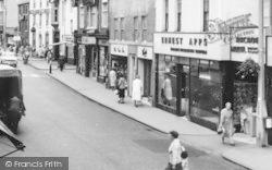 Bromsgrove, High Street, Shops c.1960