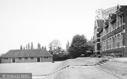 Bromsgrove, Kiteless House And The Armoury, Bromsgrove School c.1955
