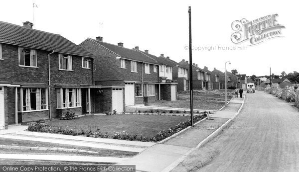 Bromsgrove, New Road Estate c.1960