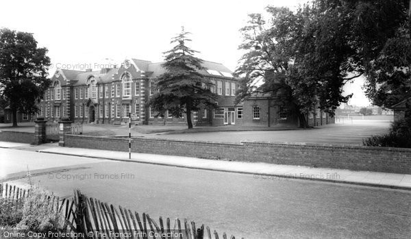 Bromsgrove, North Bromsgrove Secondary Modern School c1965