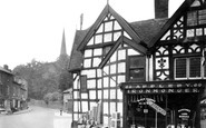 Bromsgrove, Old Timbered Houses 1949