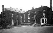 Bromsgrove, School, Old School House c.1955