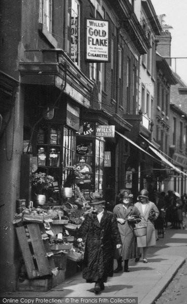 Bromsgrove, Shop In The High Street 1931