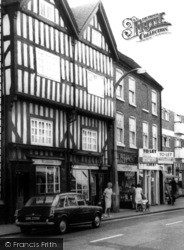 Bromsgrove, Shopping On High Street c.1965