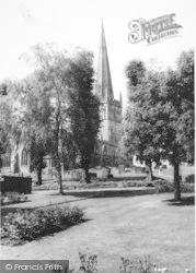 Bromsgrove, St John's Church c.1965