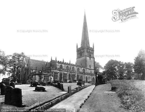 Bromsgrove, St John's Parish Church 1931