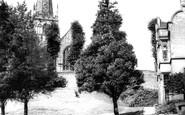 Bromsgrove, St John's Parish Church c.1965