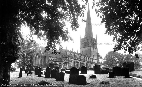Bromsgrove, St John The Baptist Parish Church 1931