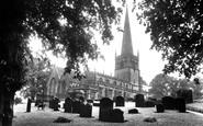 Bromsgrove, St John The Baptist Parish Church 1931