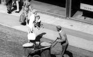 Bromsgrove, Street Cleaner c.1965