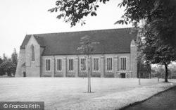Bromsgrove, The Chapel, Bromsgrove School c.1955