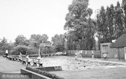Bromsgrove, The Swimming Pool, Bromsgrove School c.1955