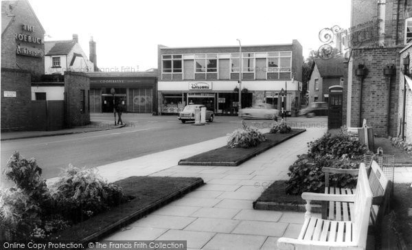 Photo of Bromsgrove, Town Centre c1965, ref. b233069
