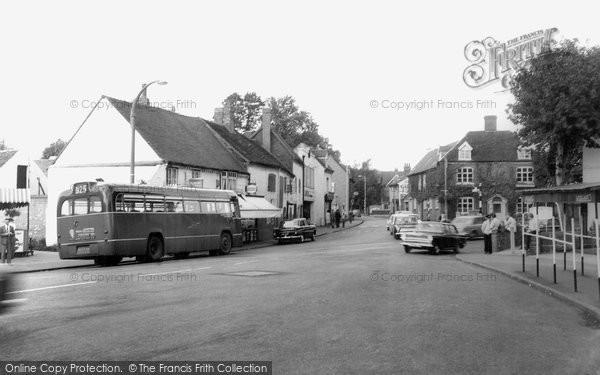 Photo of Bromsgrove, Town Centre c1965, ref. b233070