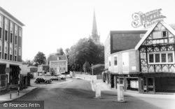 Bromsgrove, Town Centre c.1965