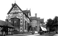 Bromsgrove, Tudor House Ad 1572,  New Road 1931