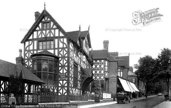 Photo of Bromsgrove, Tudor House AD 1572,  New Road 1931, ref. 84651