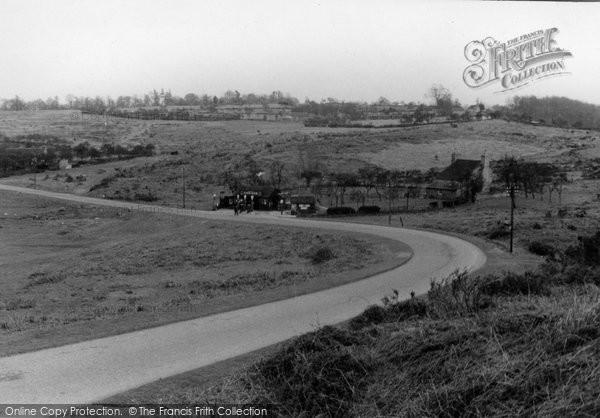 Bromyard, Bringsty Common c.1950