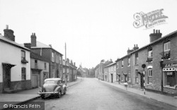 Bromyard, Church Street 1952