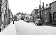 Bromyard, Church Street 1957