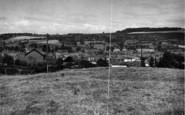 Bromyard, General View From Leominster Road c.1955