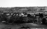 Bromyard, General View From The Downs c.1955