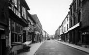 Bromyard, High Street 1952