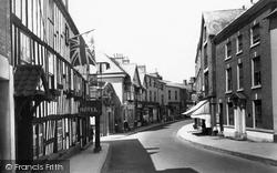 High Street c.1950, Bromyard