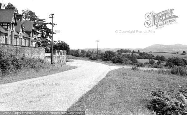 Bromyard, Kidderminster Road 1957