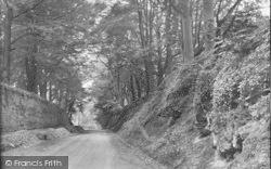 Bromyard, On The Worcester Road 1923
