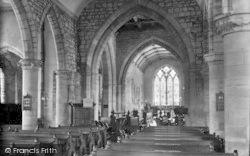 Bromyard, Parish Church, The Nave c.1950