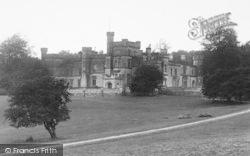 Bromyard, Saltmarshe Castle 1923