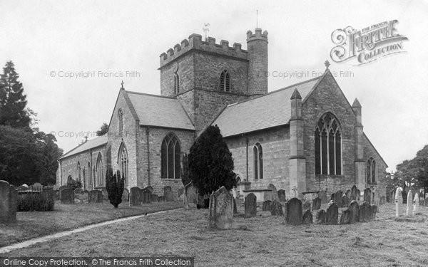 Bromyard, St Peter's Church 1906