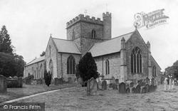 St Peter's Church 1906, Bromyard