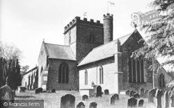 Bromyard, St Peter's Parish Church c.1950