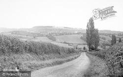 Bromyard, The Downs 1954