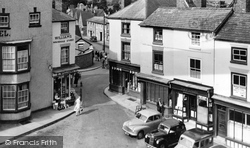 The Square c.1955, Bromyard