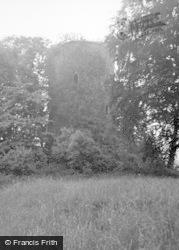 Bronllys, Castle 1953