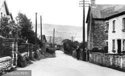 Bronllys, Village c.1940