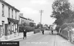 Bronllys, Village c.1955