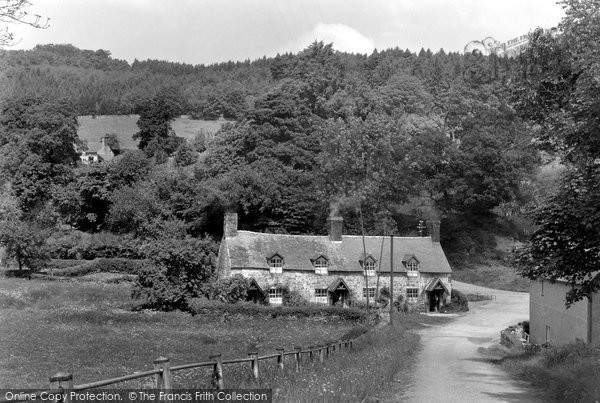 Bronygarth, Castle Mill c.1950