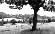 Bronygarth, Chirk Castle From Bronygarth c.1955