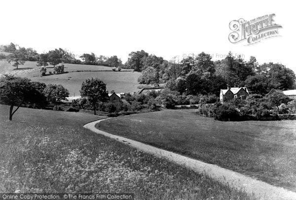 Bronygarth, Penisargglyn Hall c.1950