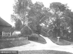 Brook, Brook Corner 1925