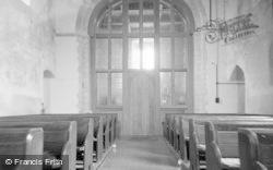 Brook, Church Interior 1962