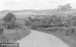 Brook, General View From Spelders Hill 1962
